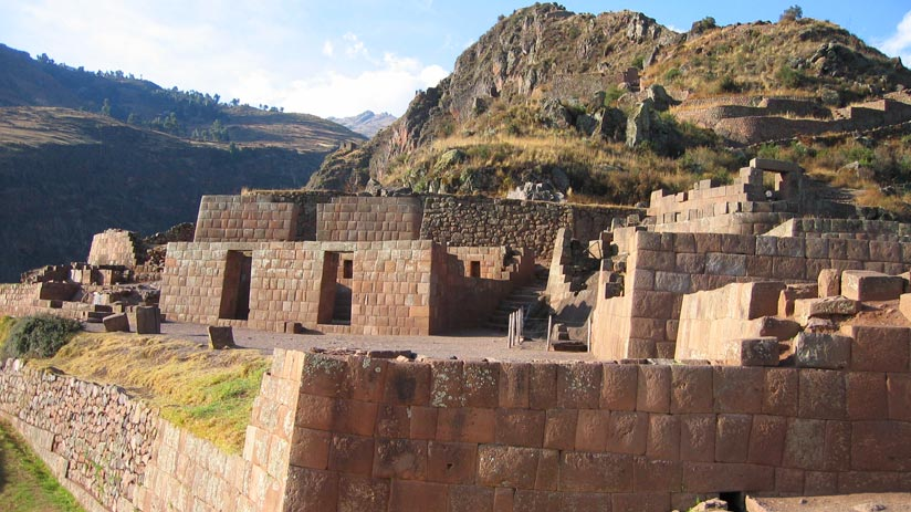 peru expeditions, pisac inca citadel in cusco
