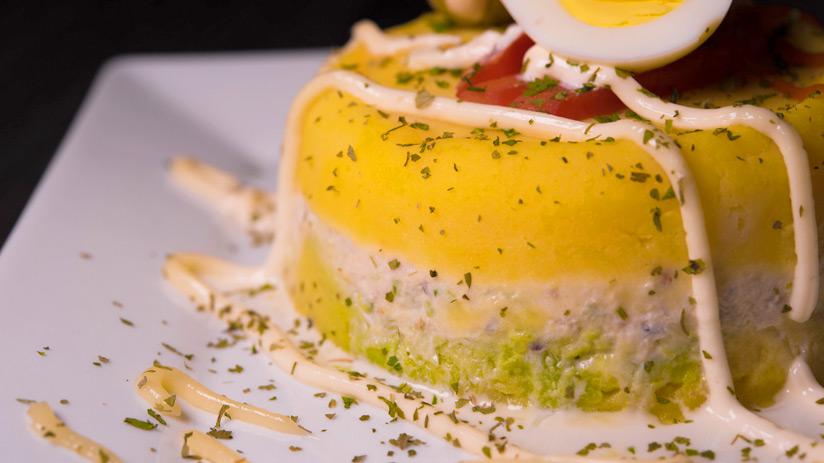 traditional peruvian food causa limeña