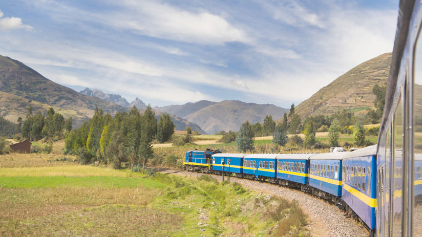 train in the sacred valley, climbing machu picchu
