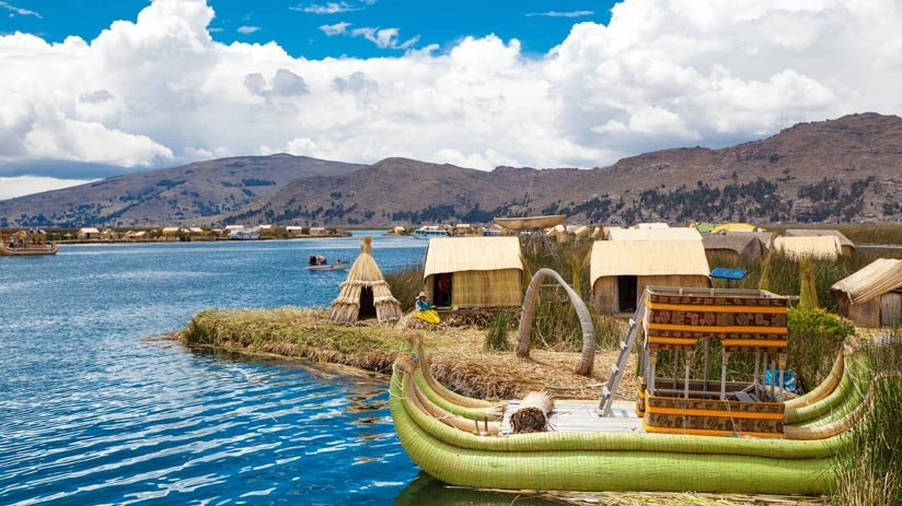 ancestral tradition in lake titicaca, traveling to peru in january
