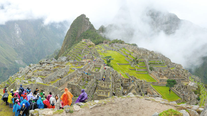 rainy season machu picchu information