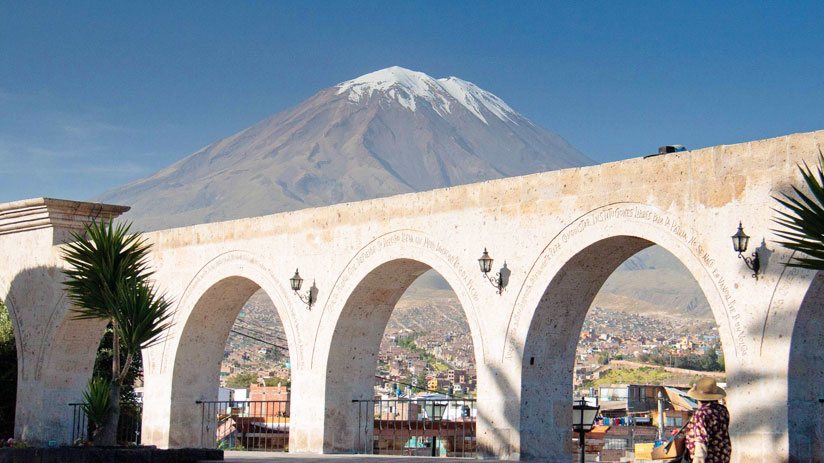 peru expedition, visit yanahuara viewpoint in arequipa