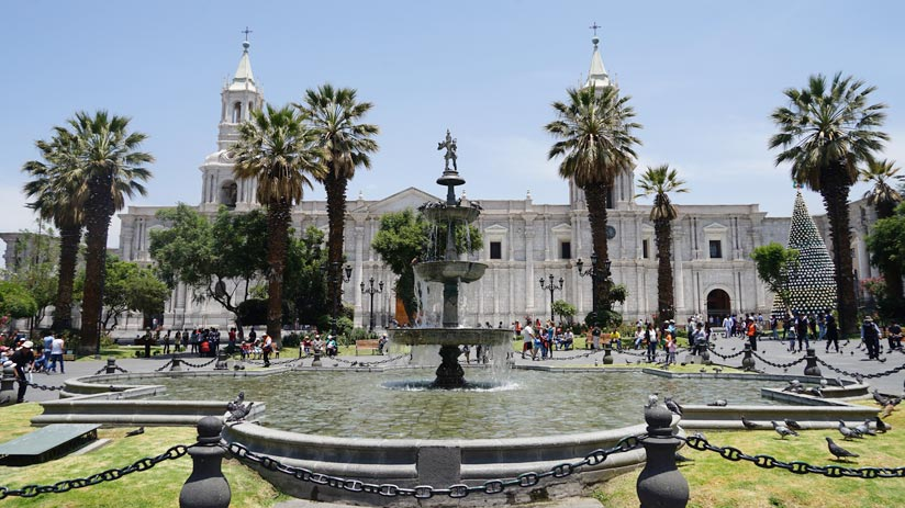 know arequipa in your holidays to peru from uk