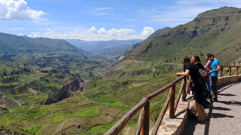 colca canyon in your holidays to peru from uk