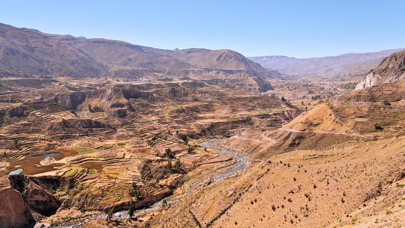geography in peru