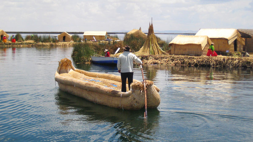 visit uros island in your holidays to peru from uk