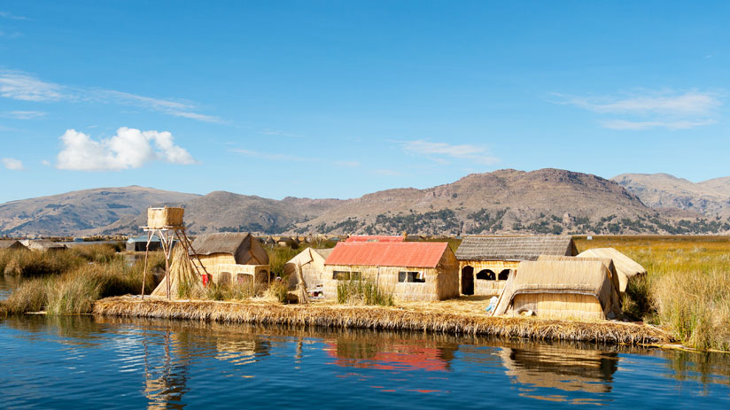 visit the uros island with peru private tours