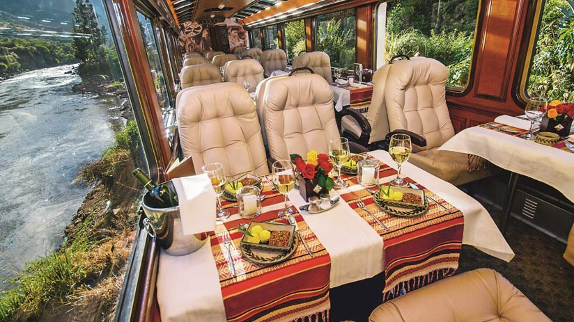 luxury train with cusco packages