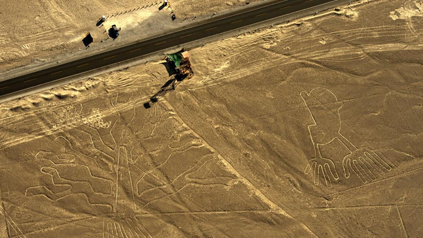 included the nazca lines in your holidays to peru from uk