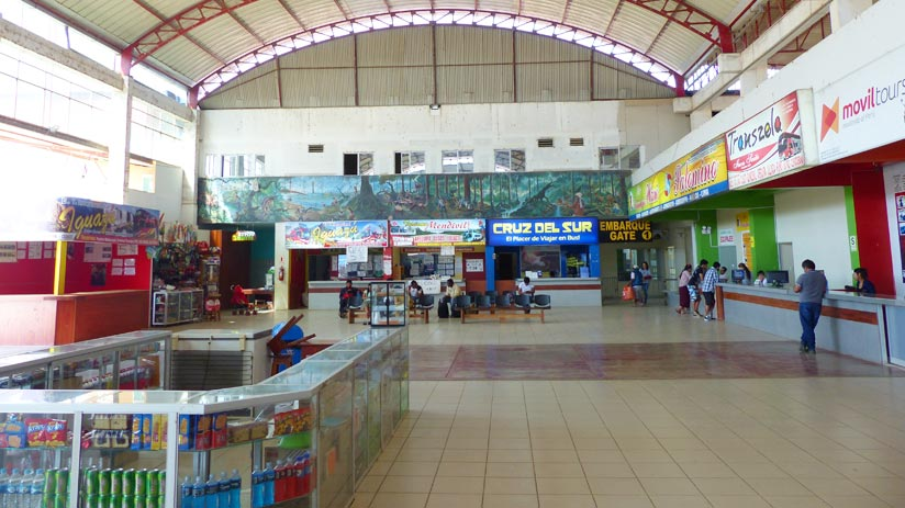bus station of puerto maldonado