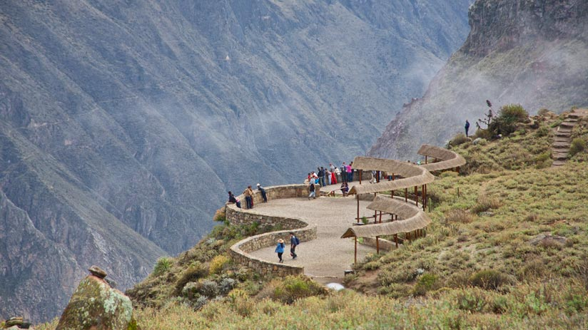 visit colca canyon in arequipa with a peru tours