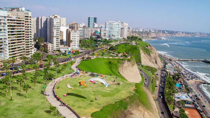 peru family tours and costa verde in lima