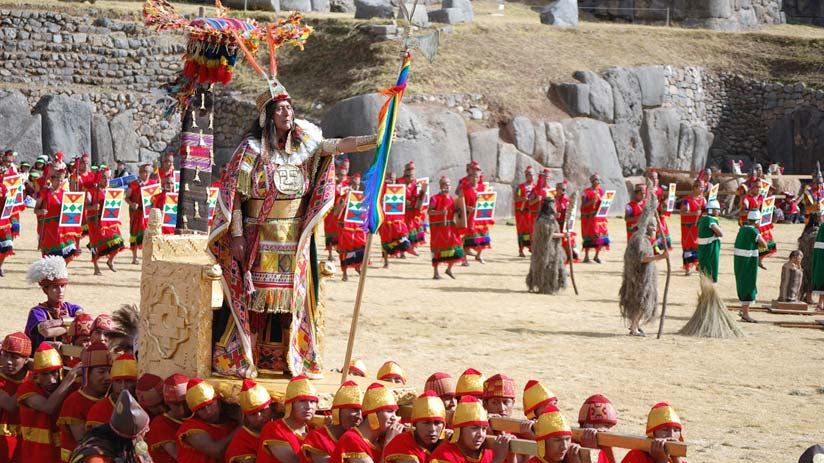 peru family tours and visit the inty raymi