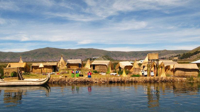 discover uros island with a peru tours