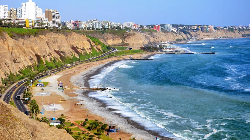 tours in peru in the costa verde of lima