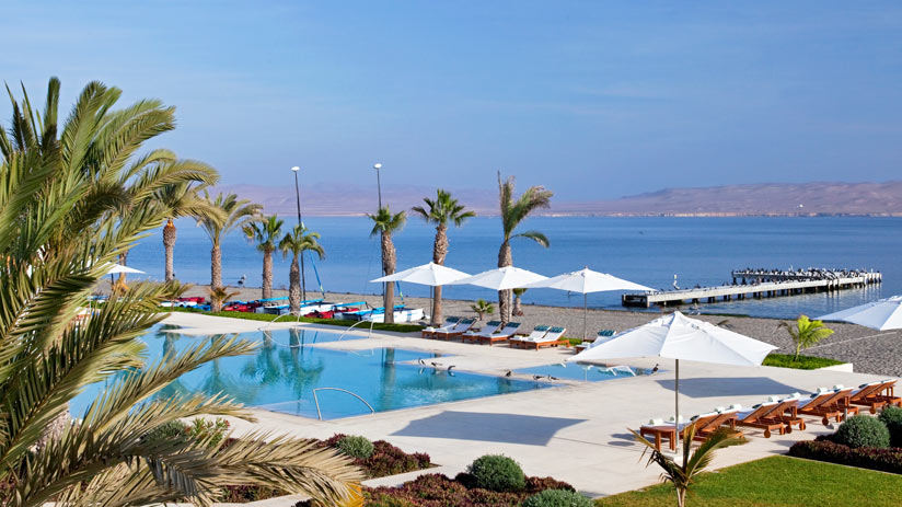 enjoy paracas with luxury accommodation in a peru tours