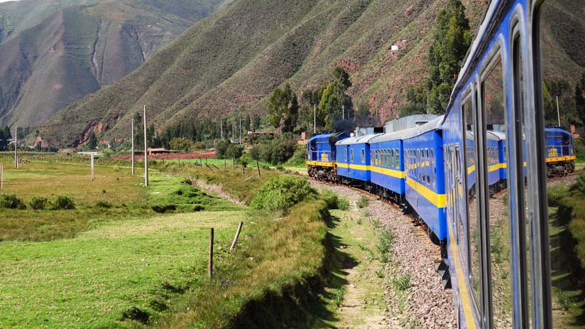 tours in peru with the train to machu picchu