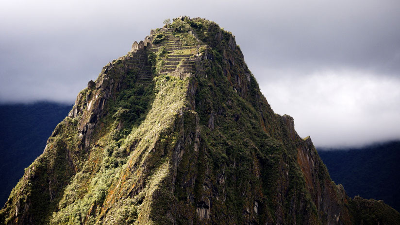 machu picchu and huayna picchu mountain