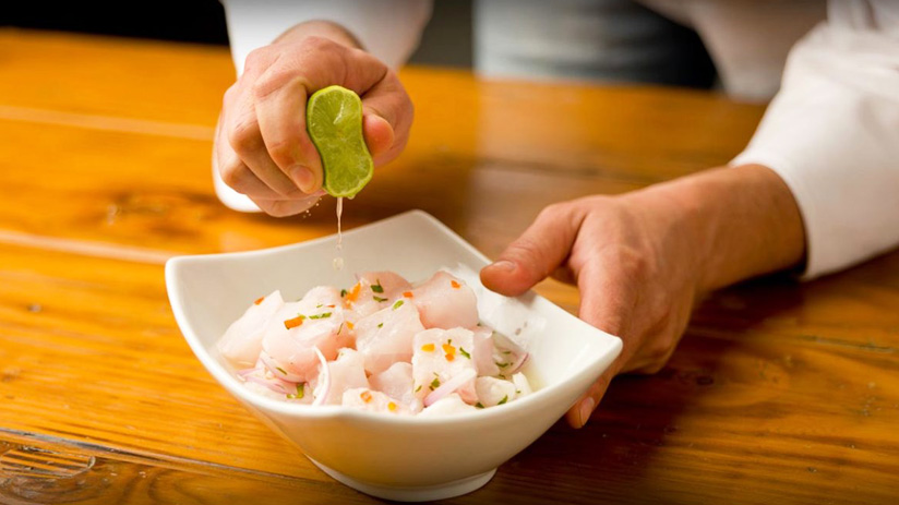try ceviche and visit machu picchu and cusco