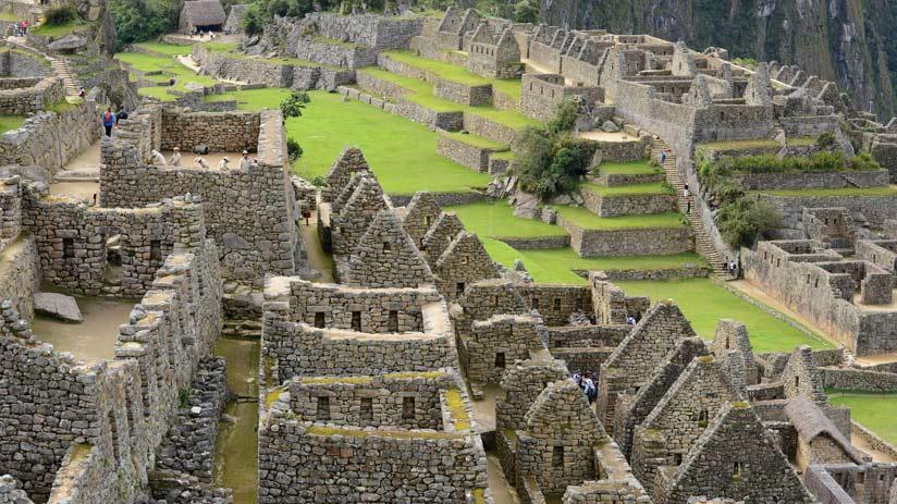 temples of machu picchu citadel