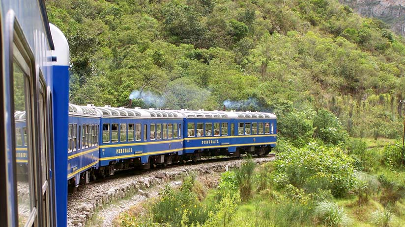 the train to machu picchu village