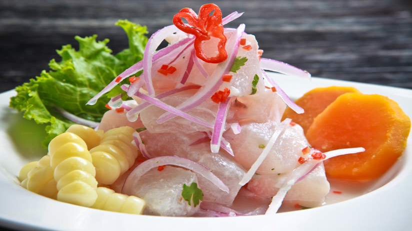 peru tour companies will offer you ceviche