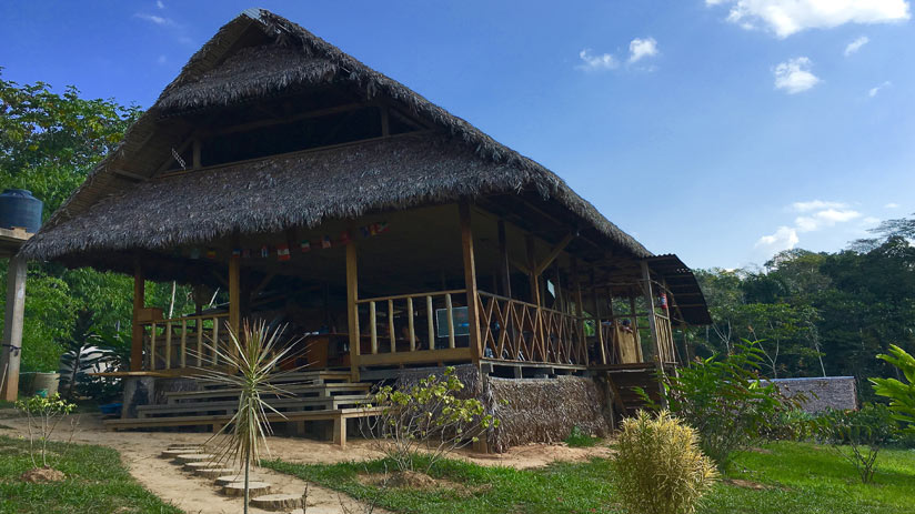 visit peru stay in this confortable lodge