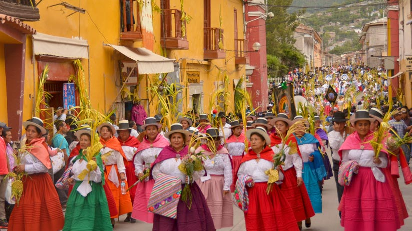 what to do in peru palm sunday ayacucho