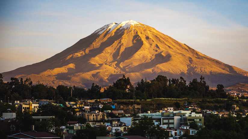arequipa tourist attractions arequipa city misti volcano