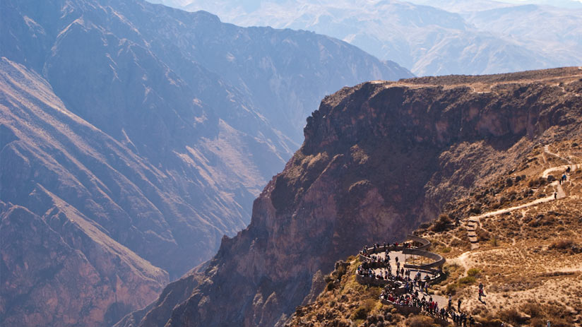 colca canyon beautiful view