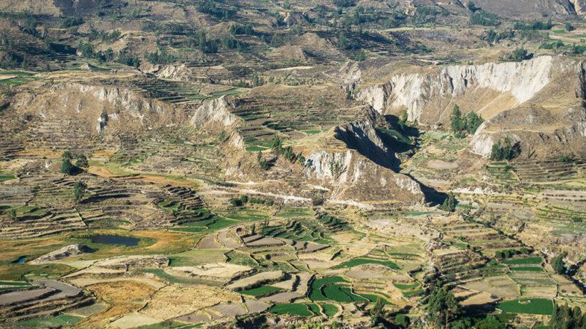 colca canyon location