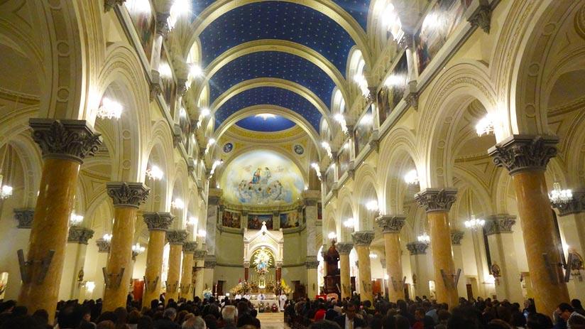 easter in peru basilica lima
