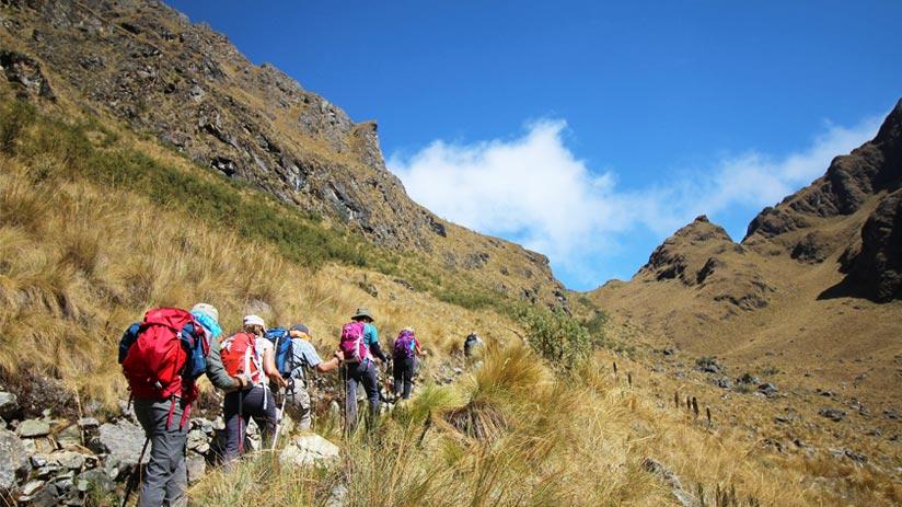 peru machu picchu hike inca trail overview