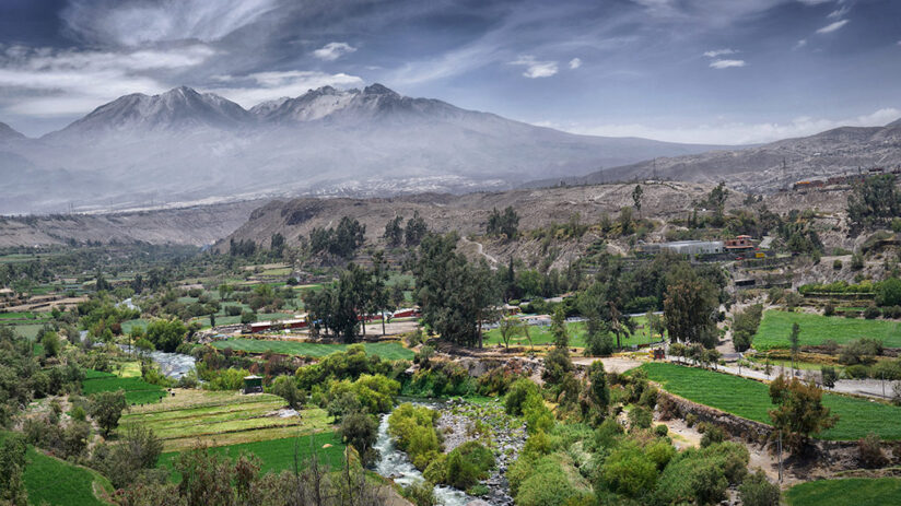 tourist attractions in arequipa cayma valley