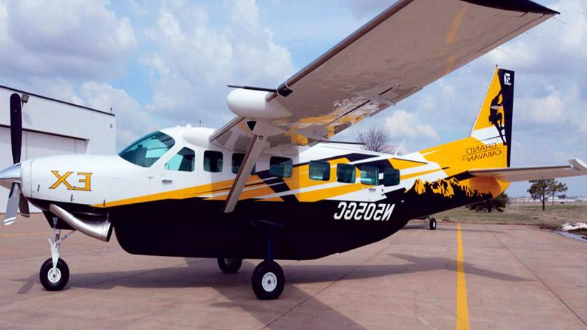 fly over nazca lines Cessna Grand Caravan