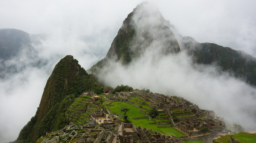 get to machu picchu in rainy season