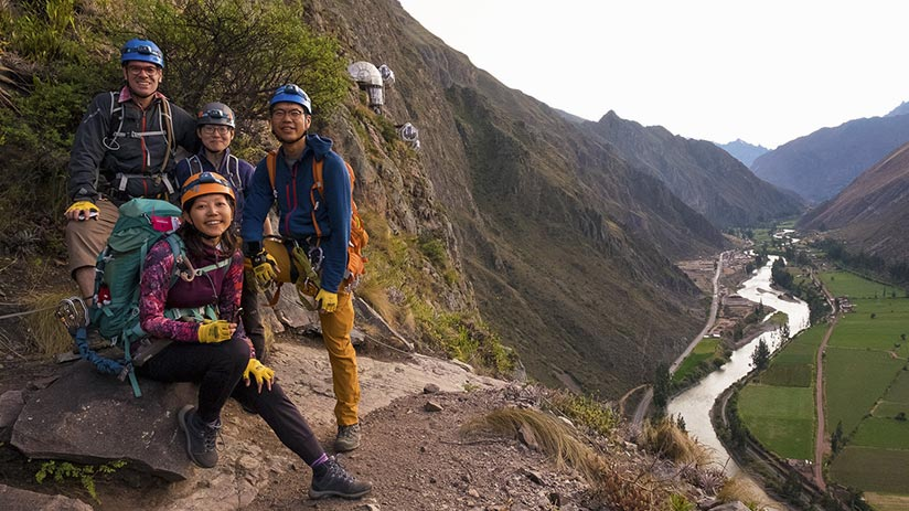 sacred valley peru skylodge zipline