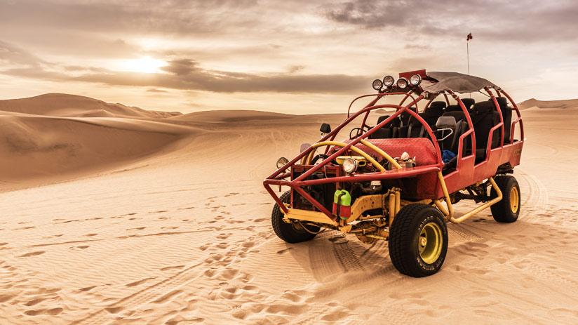 sandboarding in paracas buggy ride