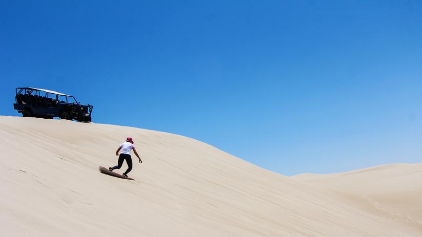 sandboarding paracas experience
