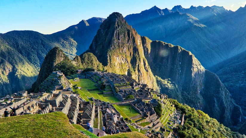 walking up machu picchu the lost city of the incas