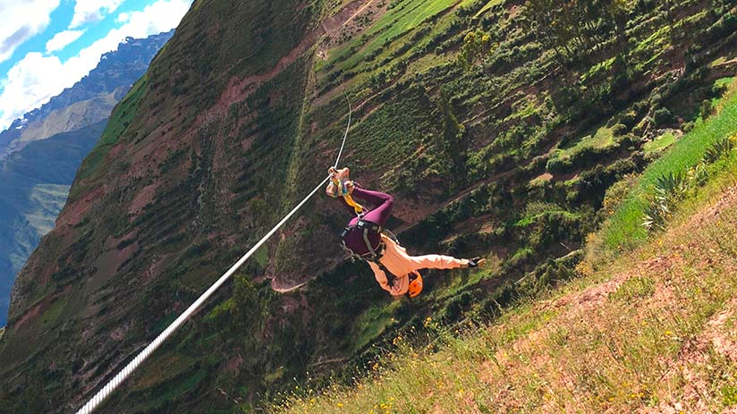 zip line sacred valley different style