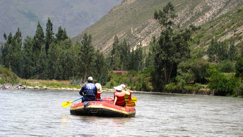 adventure sports in the sacred valley rafting