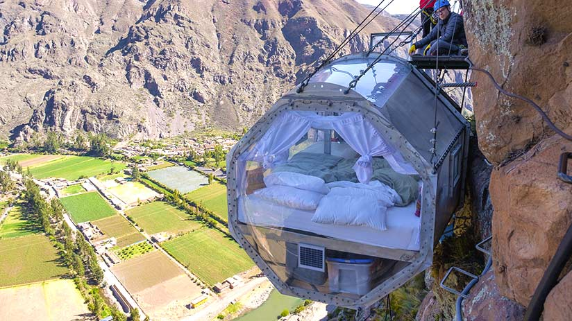 adventure sports in the sacred valley skylodge