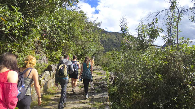best time to walk inca trail group