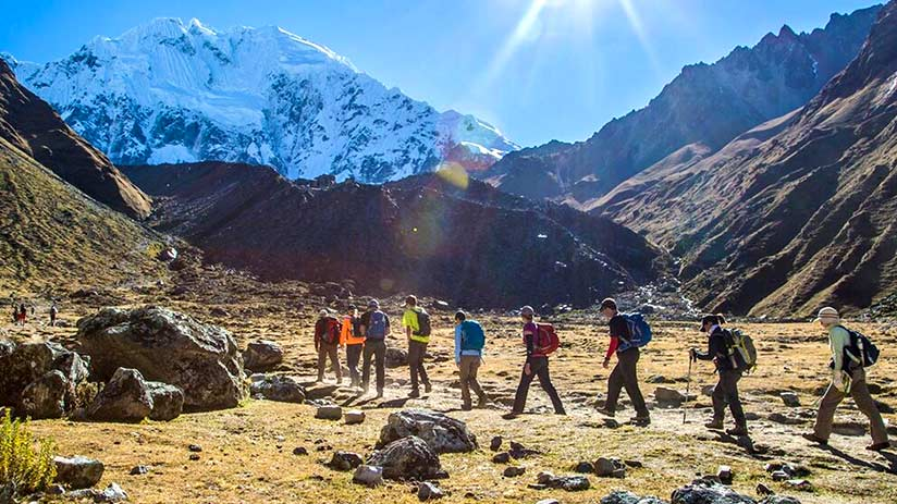 best time to walk inca trail salkantay route