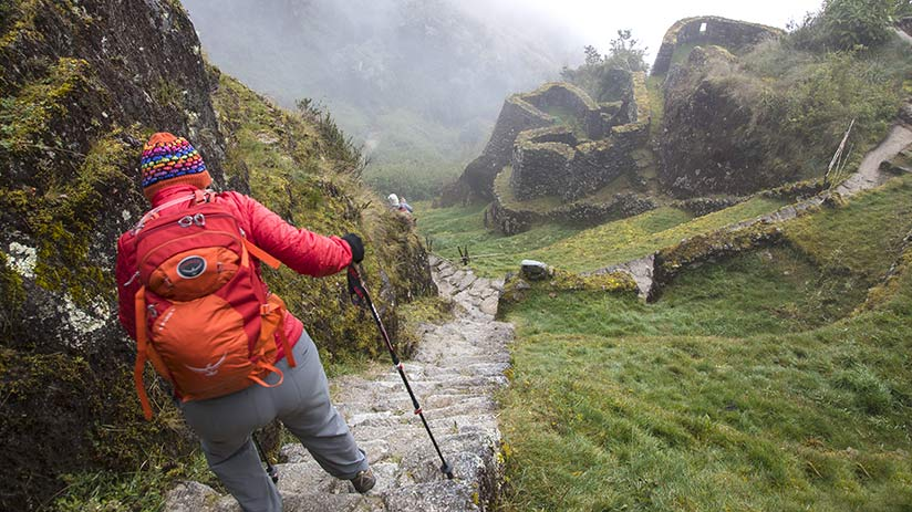 best time to walk inca trail wet season