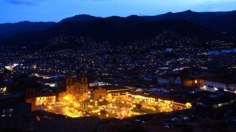 cusco nightlife plaza de armas