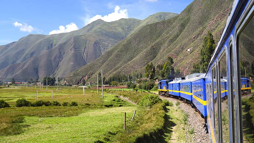 machu picchu holiday in train