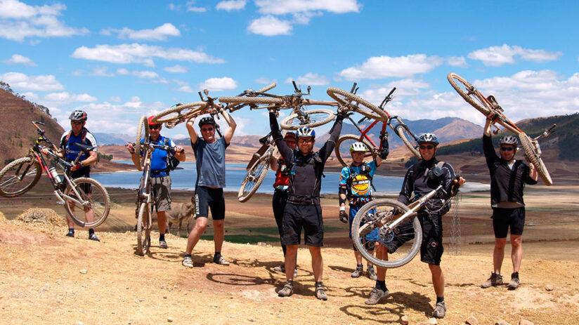 adventure sports mountain biking