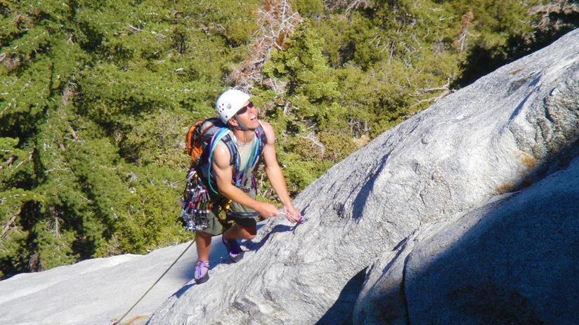 adventure sports rock climbing